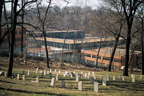 The Coast Guard's offices will be next to a Civil War cemetery
