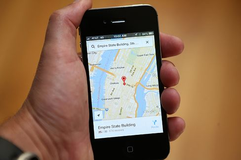 New Google Maps App Restores Order to the Universe