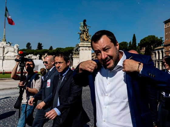 Salvini Has an Ultimatum of His Own for Italy's Government