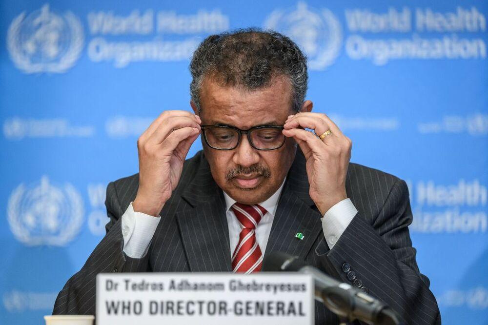 Is WHO Director-General Tedros Adhanom Ghebreyesus satisfied with his own report?