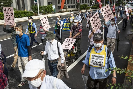 Japan Resistance to Olympics Seeing Signs of Easing, Polls Show