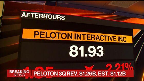 Peloton Says Recall Will Reduce Revenue by $165 Million