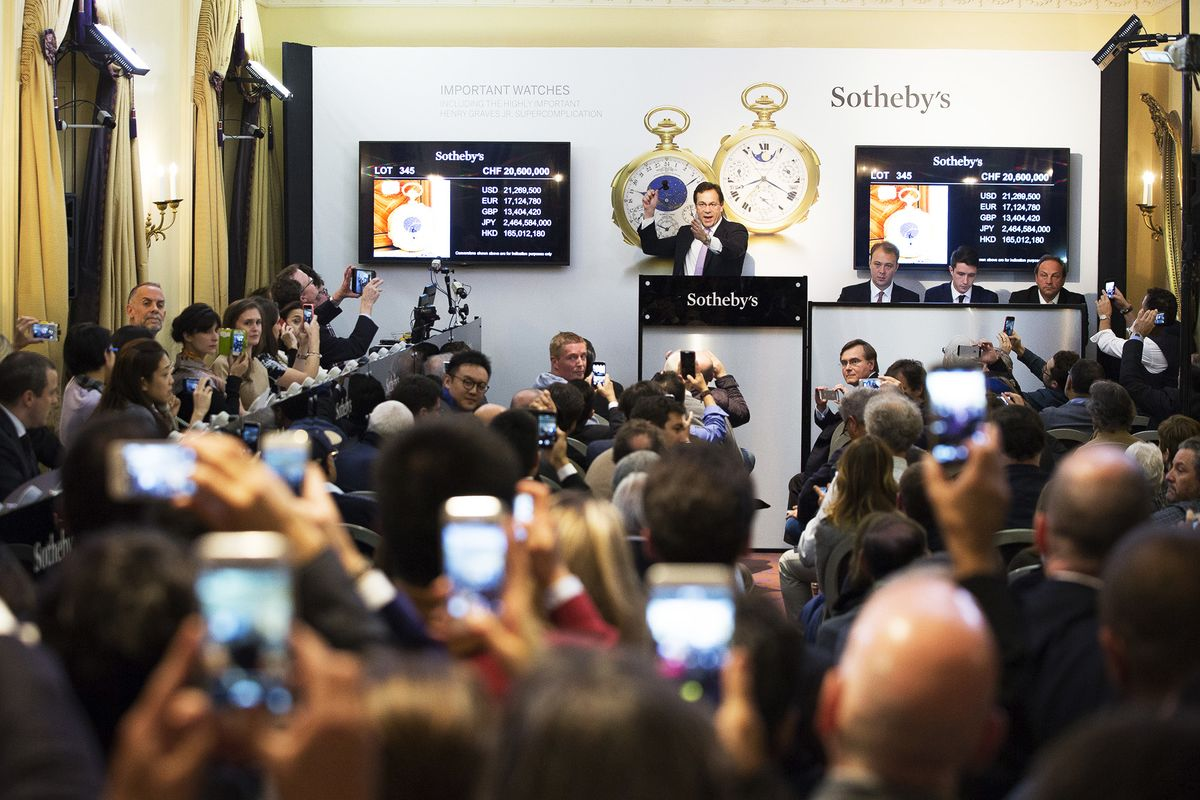 sothebys christies auction house scandal - 1080×710