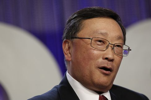 BlackBerry Chief Executive Officer John Chen
