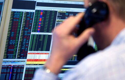 Global Stocks Drop With Euro Before U.S. Data