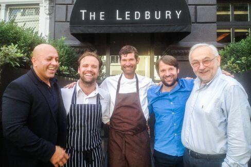 Chefs at Ledbury