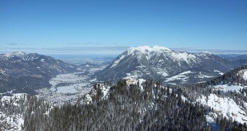 Zugspitze Mountain near Garmisch-Partenkirchen