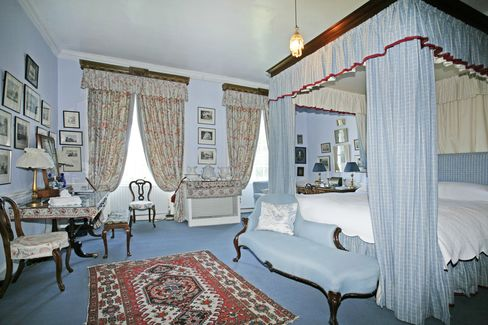 One of Glin Castle's 21 bedrooms.