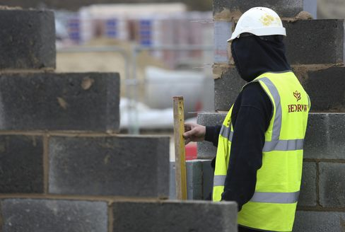 Residential Property Construction At A Redrow Plc Housing Development