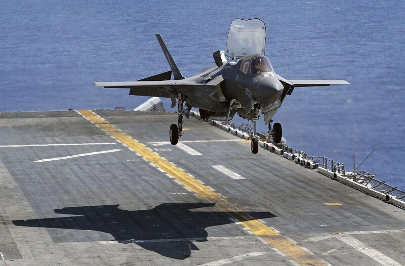 pentagon classifies study of f 35 jet s challenges in pacific