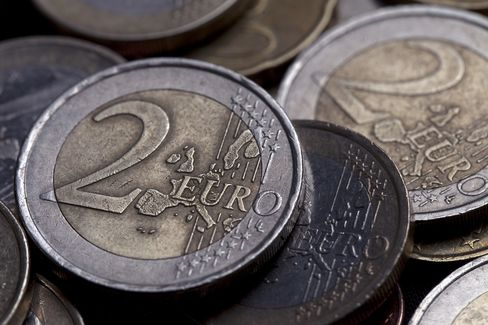 Euro Falls as Confidence Forecast to Drop Amid Contagion Concern