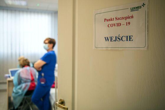 L'échec de la vaccination en Pologne;  La France voit le point culminant: la mise à jour du virus