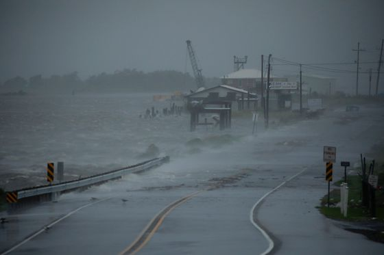 How Climate, 'Rapid Intensification' Revved Up Hurricane Ida