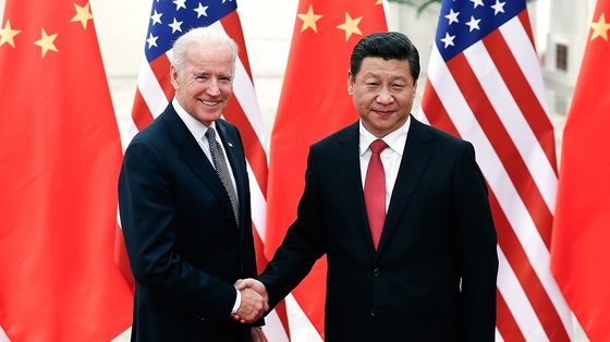 Biden on Not Calling Xi: 'Haven't Had Occasion to Talk'