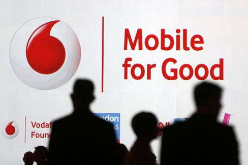 Vodafone Is Said to Be Ready to Accept Lower Debt Rating on M&A