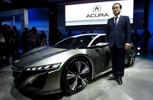Honda Motor Co. Ltd. President and CEO Takanobu Ito