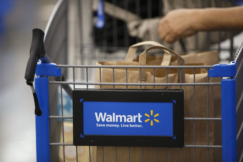 walmart wmt earnings just put amazon amzn on notice bloomberg
