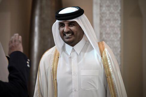 Qatari Crown Prince Sheikh Tamim