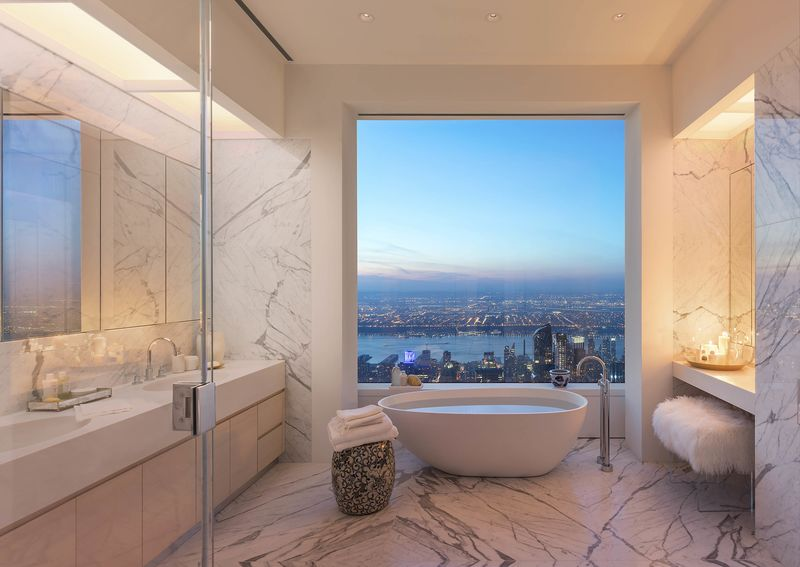 nyc bathroom law. here\u0027s a jaw-dropping penthouse in nyc\u0027s tallest residential building nyc bathroom law