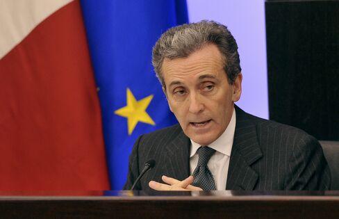 Deputy Italian Finance Minister Vittorio Grilli