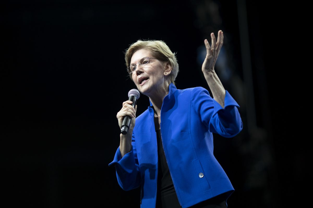 Warren Says She Made About $1.9 Million as Bankruptcy Lawyer