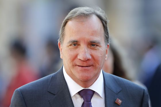 Sweden's Lofven Says He's Prepared to Form Coalition Government