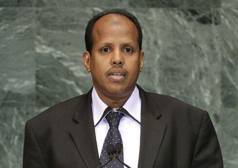 Djiboutian Foreign Minister Mahamoud Ali Youssouf