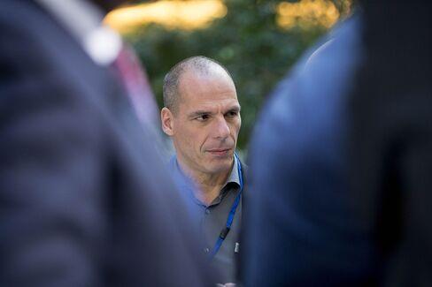 Greece's Finance Minister Yanis Varoufakis
