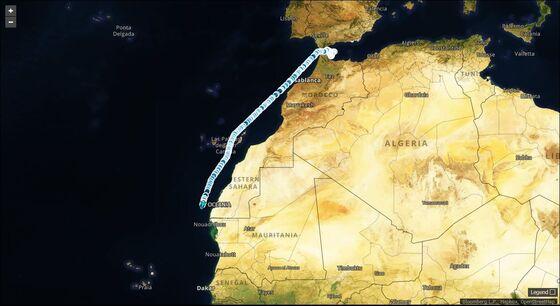 World's Biggest Oil Tanker Sails for Fuel-Storage Zone
