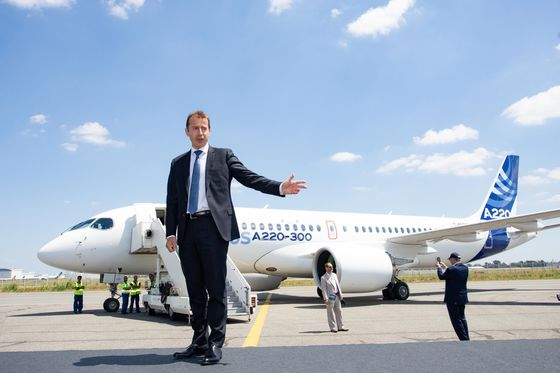 Incoming Airbus CEO Weighs a Streamlined Power Structure