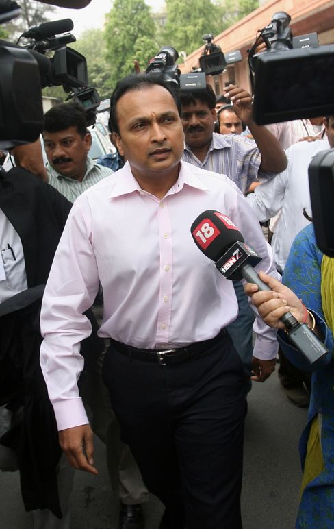 Reliance Power Chairman Anil Ambani