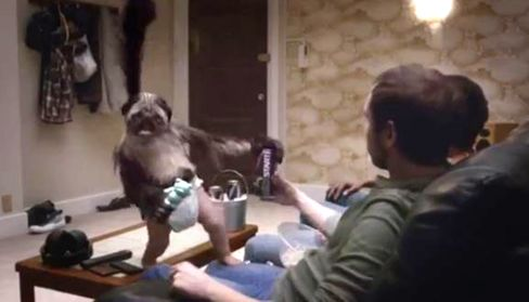 Mountain Dew's PuppyMonkeyBaby