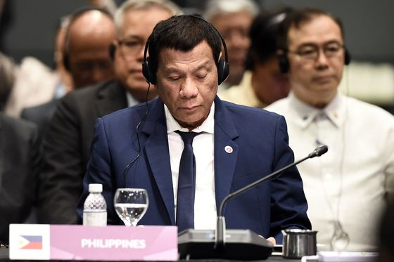 Duterte Skips Meetings With Moon, Morrison to Take 'Power Naps'