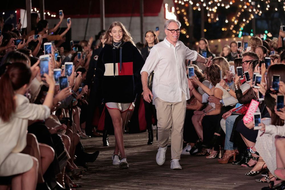 b681770a Tommy Hilfiger Bets Gigi Hadid and a Carnival Can Make It Cool Again ...