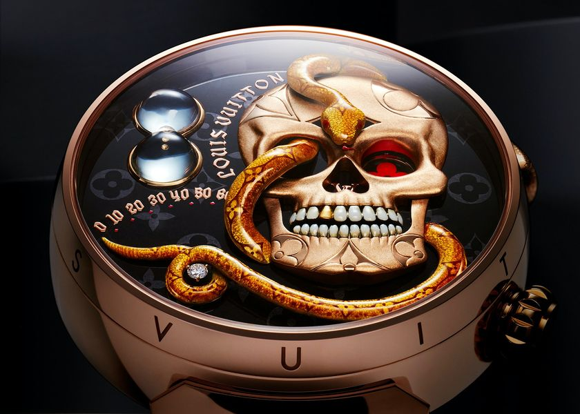 relates to A Skull-and-Snake Watch From Louis Vuitton Is a Punk Marvel of Ingenuity