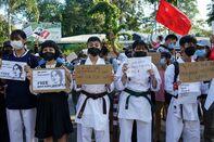 relates to 日本の消極的姿勢、バイデン大統領の戦略損なう-対ミャンマー制裁
