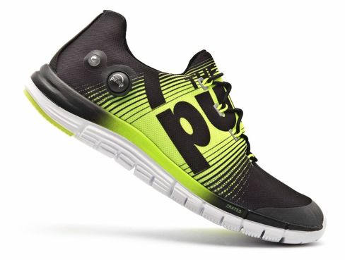 Reebok's new ZPump Fusion running shoe was unveiled this morning.