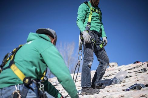 A SolarCity Corp. Residential Solar Panel Installation Ahead Of Earnings Figures