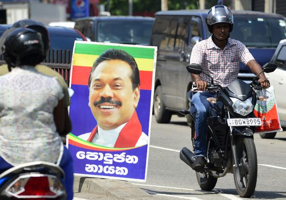 Sri Lanka's Strongman Is Back, and He's Brought His Family Too
