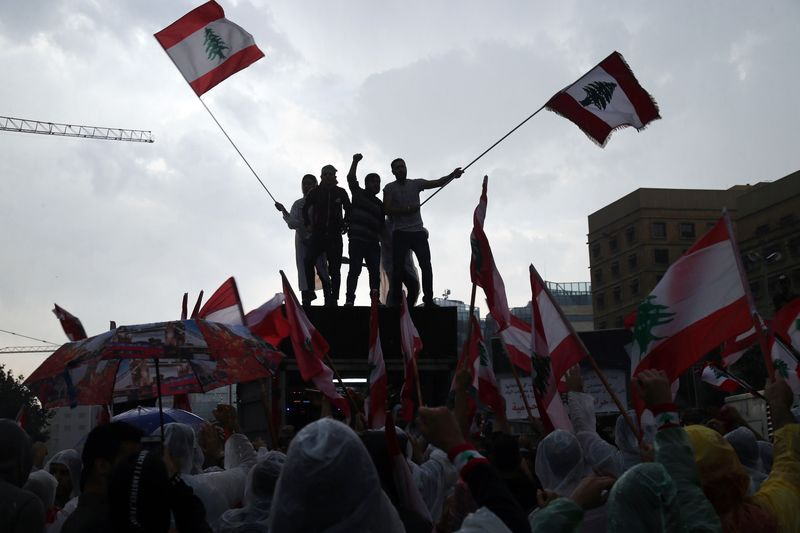 Beirut Protests Draw a Careful Silence From Gulf Arab States