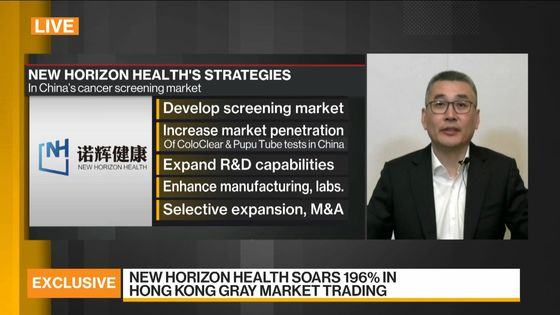 Chinese Cancer Screening Firm Triples in Hong Kong IPO Debut
