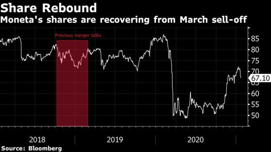 Billionaire Kellner Seeks Moneta Stake to Revive Bank Merger