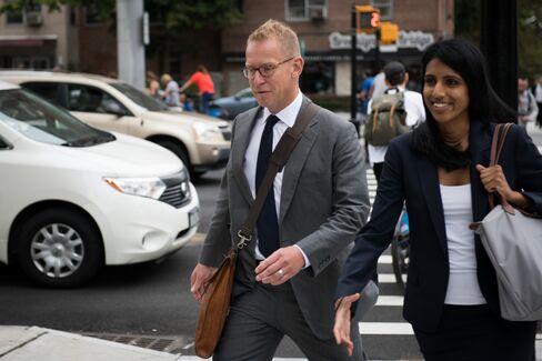 Mark Johnson in New York on Sept. 18.