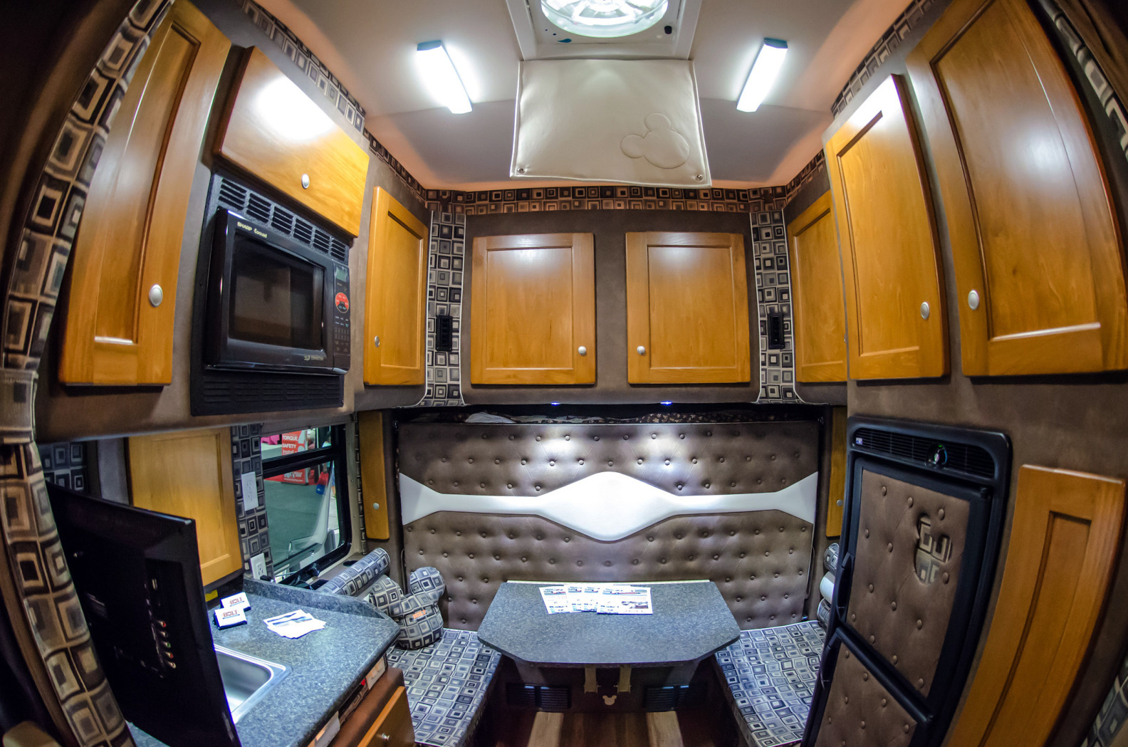 Big Rigs Get The Comforts Of Home To Help Truckers Close
