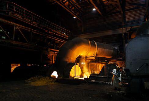 ThyssenKrupp Steel Plant In Duisburg