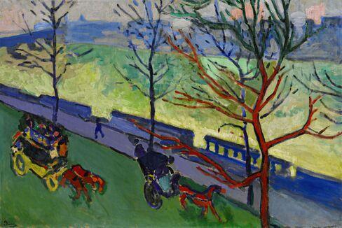 André Derain, Londres: Le Quai Victoria, 1906-07