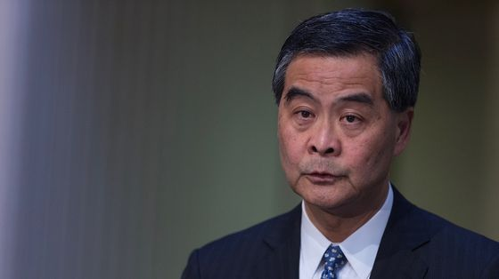 Former Hong Kong Leader Signals Housing Is the Next Big Target