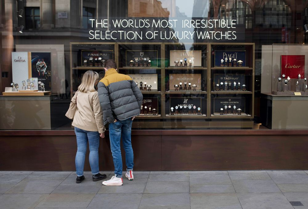 In Case of Brexit Emergency: A Stockpile of Luxury Swiss Watches