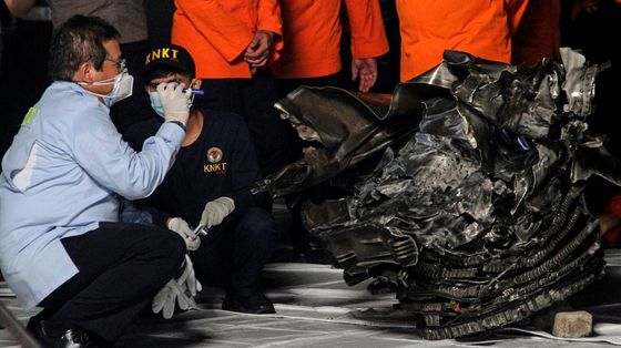Indonesia Pilots Had Decades of Flying Experience Before Crash