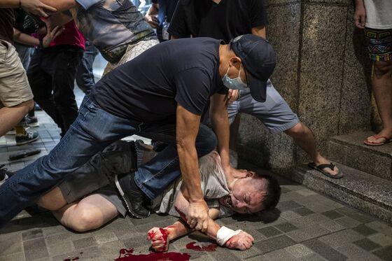 More Than 70 Injured as Hong Kong Protesters, Police Clash